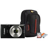Starterskit - Canon IXUS 185 + Geheugen + Tas + Accu