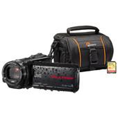 Zomerkit - JVC GZ-R435BEU + Geheugen + Tas