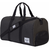 Herschel Novel Black Grid
