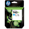 HP 940 Cyan XL Ink Cartridge (blauw) C4907AE