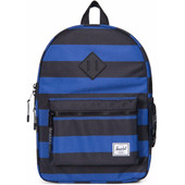 Herschel Heritage Youth Black/Surf the Web Stripes