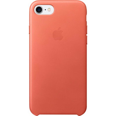 Apple iPhone 7 Leather Case Oranje