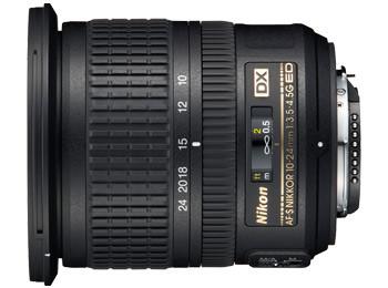 Nikon AF-S 10-24mm f/3.5-4.5G ED DX