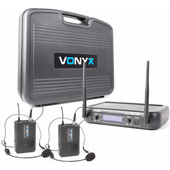 Vonyx WM73H (set met 2 headset microfoons)