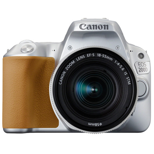 Canon EOS 200D Zilver + 18-55mm f/4-5.6 IS STM