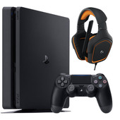 Sony PlayStation 4 500GB + Logitech G 231 Gaming Headset
