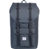 Herschel Little America Dark Shadow/Black Synthetic Leather