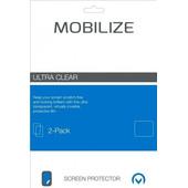 Mobilize Asus Zenfone 3 Max 5.5 inch Screenprotector Plastic Duo Pack