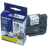 Brother TZ-241 Label Zwart op Wit (18 mm x 8 m)