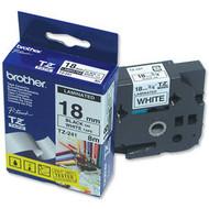 Brother TZ-241 Label Zwart op Wit (18 mm x 8 m)