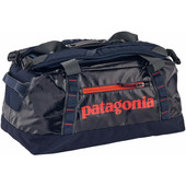 Patagonia Black Hole Duffel 45L Navy Blue Paintbrush Red