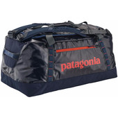 Patagonia Black Hole Duffel 90L Navy Blue Paintbrush Red