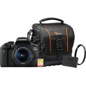 Starterskit - Canon EOS 750D + 18-55mm + Geheugenkaart + Tas + Extra accu + UV Filter