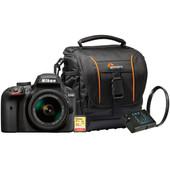 Starterskit - Nikon D3400 AF-P + 18-55mm + Geheugenkaart + Tas + Extra accu + UV Filter