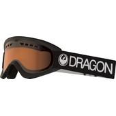 Dragon DX Black + Luma Amber Lens