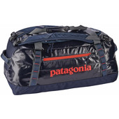 Patagonia Black Hole Duffel 60L Navy Blue Paintbrush Red