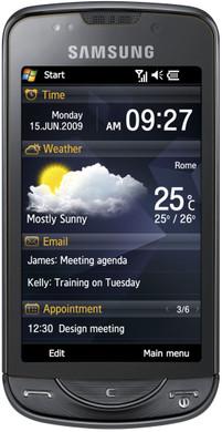 Samsung Omnia Qwerty Onyx Black