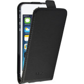 Azuri Flip CS Apple iPhone 5/5S/SE Flip Case Zwart