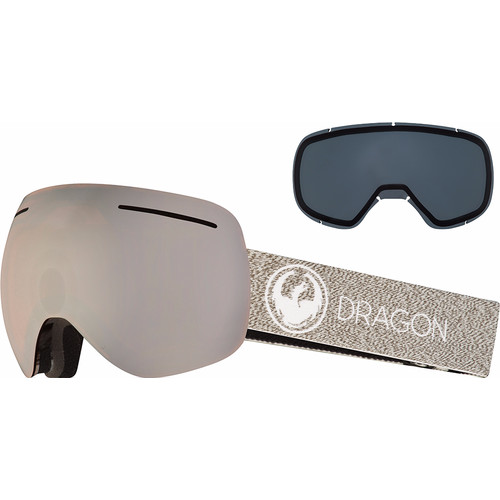 Dragon X1 Mill + Luma Silver Ion & Dark Smoke Lenzen