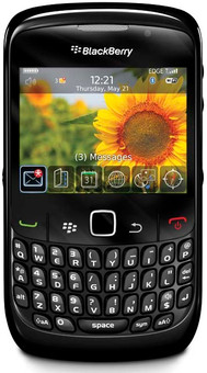 BlackBerry Curve 8520 Black QWERTY