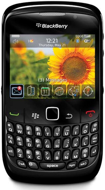 BlackBerry Curve 8520 Black KPN Prepaid