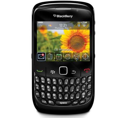 BlackBerry Curve 8520 Black KPN Prepaid