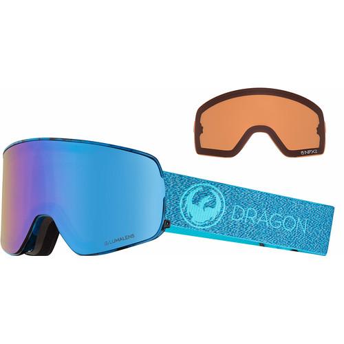 Dragon NFX2 Mill + Luma Blue Ion & Luma Amber Lenzen