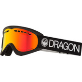 Dragon DX Black + Luma Red Ion Lens
