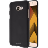 Azuri Flexible Sand Samsung Galaxy A5 (2017) Back Cover Zwart