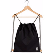 The Pack Society Gymsack Solid Black