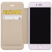 Guess Iridescent Apple iPhone 6/6s/7/8 Book Case Goud