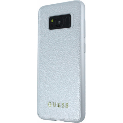 Guess Iridescent Samsung Galaxy S8 Back Cover Zilver