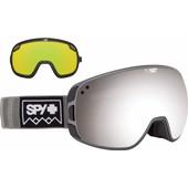 SPY Bravo Gray + Black Silver Spectra & Yellow Green Lenzen