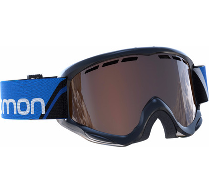 Salomon Juke Black + Tonic Orange lens