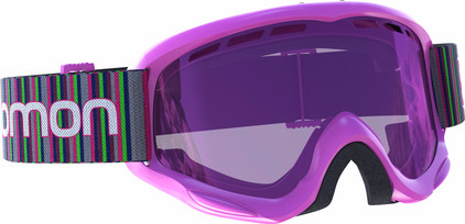 Salomon Juke Pink + Ruby lens