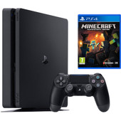Sony PlayStation 4 Slim 500 GB + Minecraft
