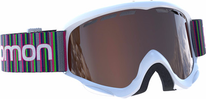 Salomon Juke White + Tonic Orange lens