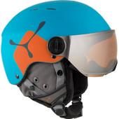 Cébé Fireball Junior Blue/Orange + Bronze Vizier (50 - 54 cm)