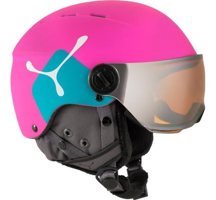 Cébé Fireball Junior Pink + Bronze Vizier (50 - 54 cm)