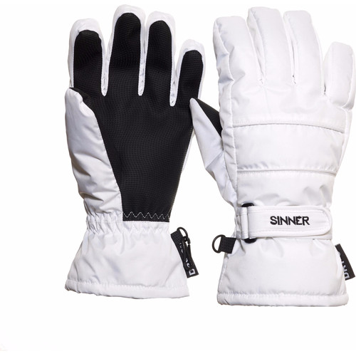 Sinner Vertana Gloves Dry-S Women Size M White