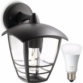 Philips Mygarden Creek Wandlamp + Philips Hue White and Color Lamp