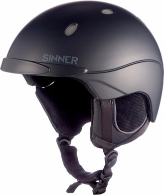 Sinner Titan Matte Black (59 - 60 cm)