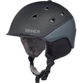 Sinner Stoneham Matte Black/Grey (59 - 60 cm)