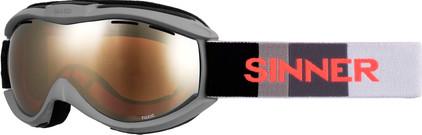 Sinner Toxic Matte Dark Grey + Orange Mirror Lens