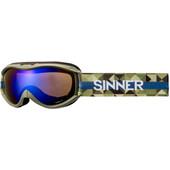 Sinner Toxic S Matte Moss Green + Blue Mirror Lens