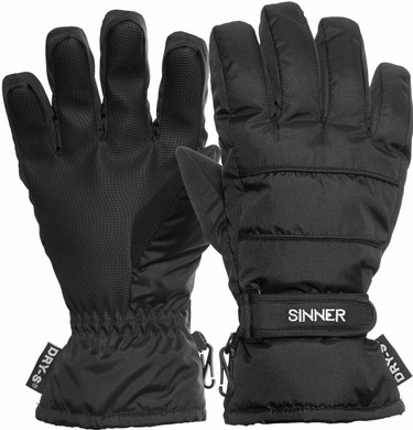Sinner Vertana Gloves Dry-S Women Size XL Black