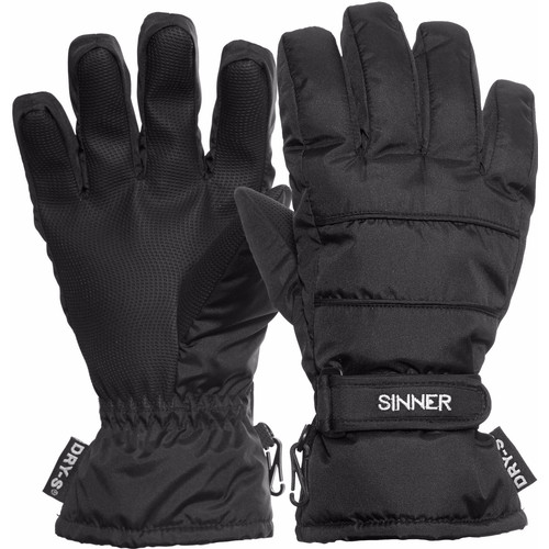 Sinner Vertana Gloves Dry-S Women Size M Black