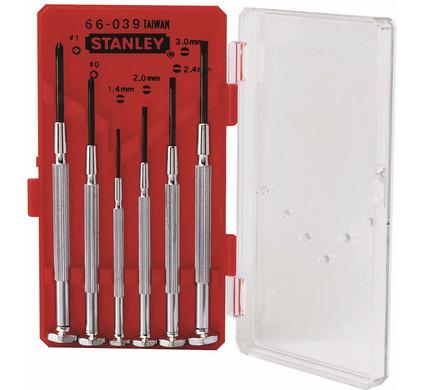 Stanley Precisieschroevendraaierset 1-66-039