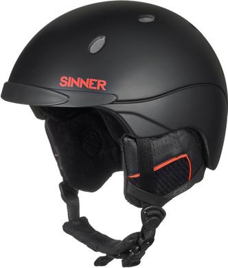 Sinner Titan Matte/Shiny Black (61 - 62 cm)