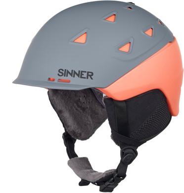 Sinner Stoneham Matte Grey/Orange (61 - 62 cm)
